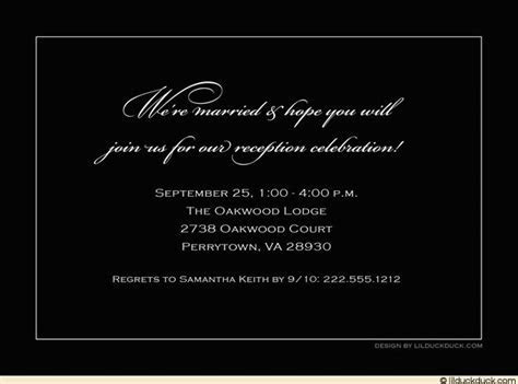 reception invitations   Reception Invitation Wording