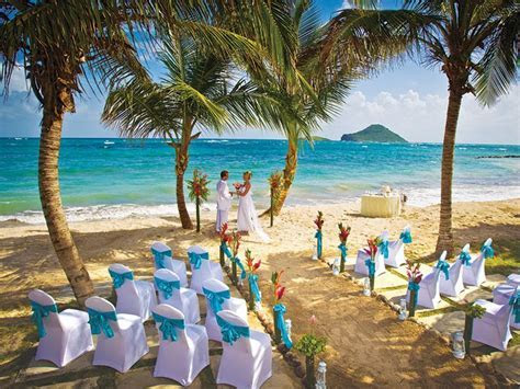 Wedding Pictures   All Inclusive Resort St Lucia   Coconut