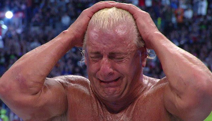 Resultado de imagem para wrestlemania 24 ric flair cry