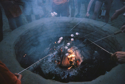 brutalgeneration:</p> <p>(by esther jung)</p> <p>When you look into the pit of fire,<br /> do you see marshmallows toasting?<br /> Or do you see demons staring out at you?<br /> Each person's perspective is different,<br /> and mine is creepier than most.