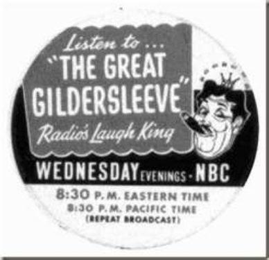 Great Gildersleeve radio show ad photo Gildersleeveradioad_zps055d81b0.jpg