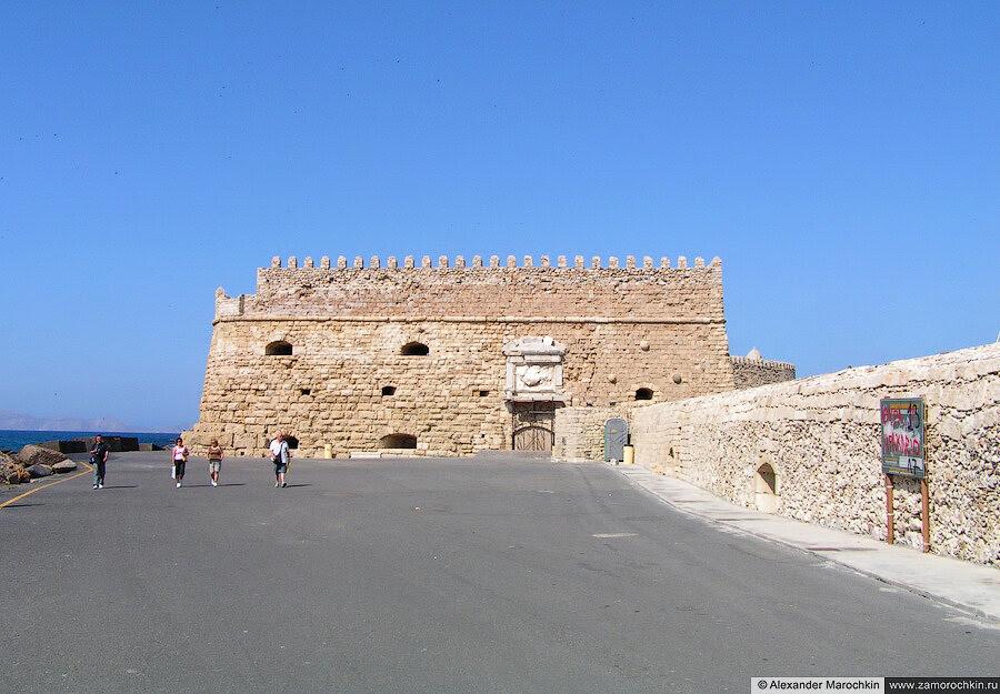 Крепость Кулес в Ираклионе | Koules Fortress in Iraklion