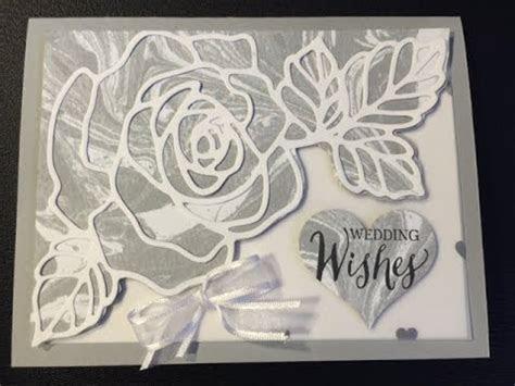 Stampin' Up! Rose Wonder Wedding Card   YouTube