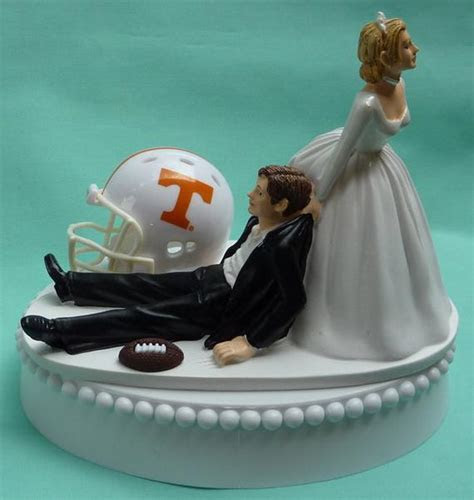 Wedding Cake Topper University of Tennessee Volunteers UT Vols