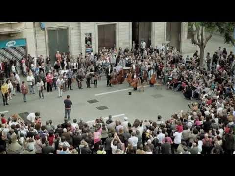 video que muestra la Celebracion del Banco Sabadell en su 130 aniversario