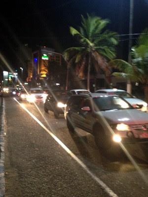 Operação aconteceu na Avenida Engenheiro Roberto Freire, em Natal (Foto: Divulgação/Polícia Militar do RN)