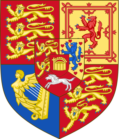 File:Royal Arms of the Kingdom of Hanover.svg