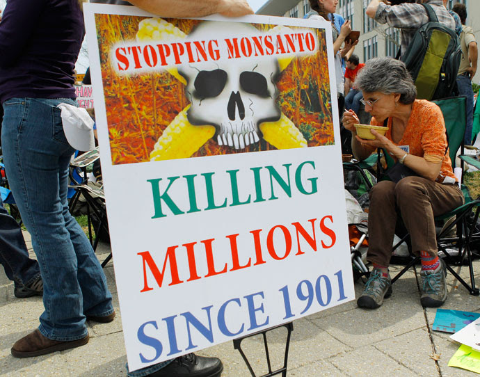 Image: International tribunal finds Monsanto guilty of crimes against humanity