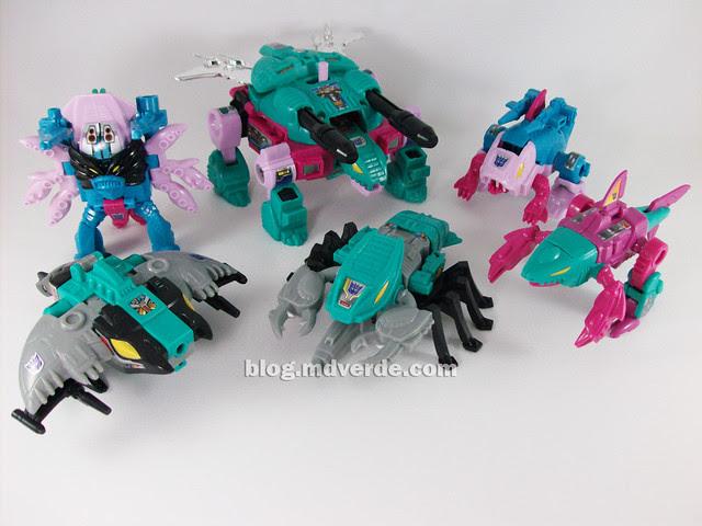Transformers Seacons G1 Reissue  - modo alterno
