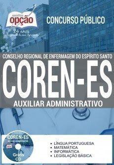 Apostila concurso Coren ES AUXILIAR ADMINISTRATIVO