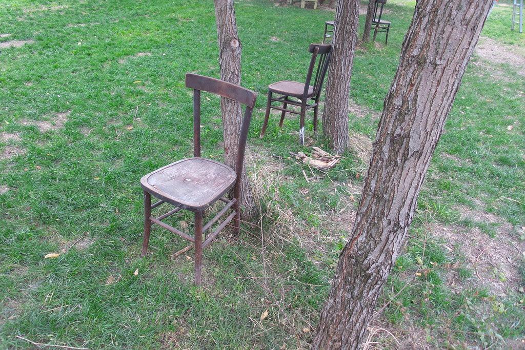 Le prime sedie per