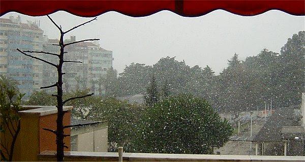 Neve em Lisboa