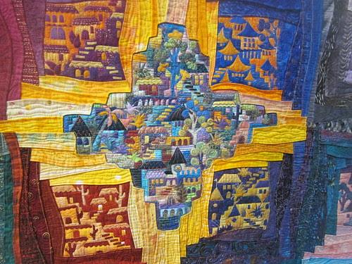 """""""Around the Block"""" by Karen Eckmeier, close up 2"""