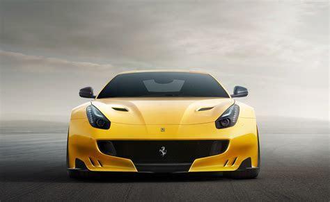 Wallpaper Ferrari F12 TDF, yellow, sport car, Cars & Bikes #7335