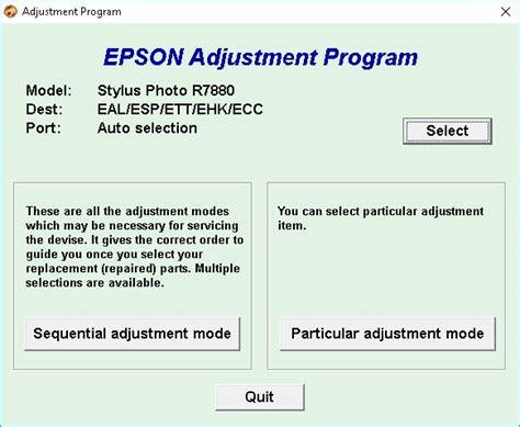 pasos  programa  resetear la impresora epson stylus