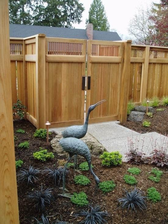 73 garden fence idea