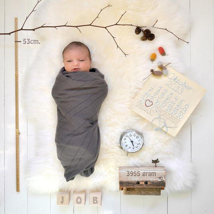 geboortekaartje - birth announcement