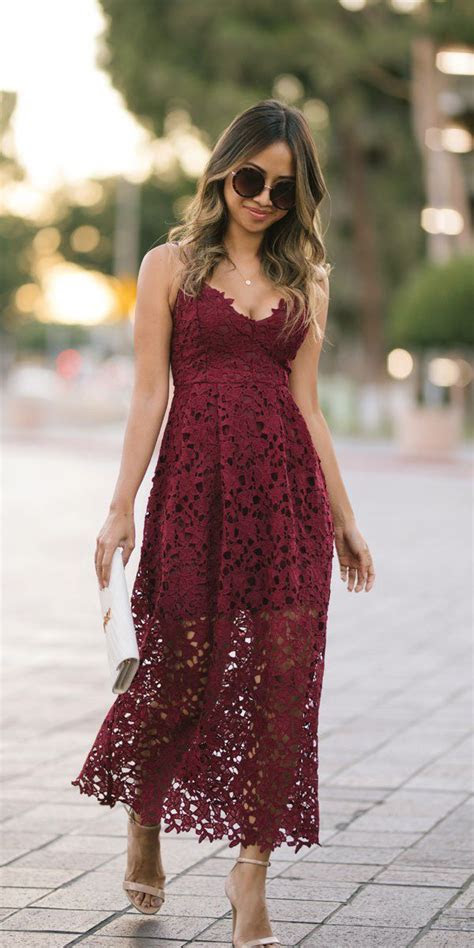 21 Gorgeous Fall Wedding Guest Dresses   Wedding Guest