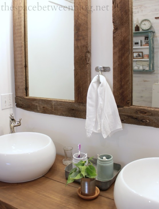 Ana White Reclaimed Wood Framed Mirrors Featuring The Space