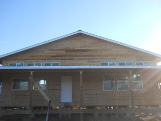 House External West Siding Complete
