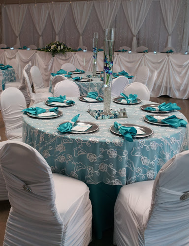 Inspiration For Turquoise Wedding Reception By Dahlia Floral Design