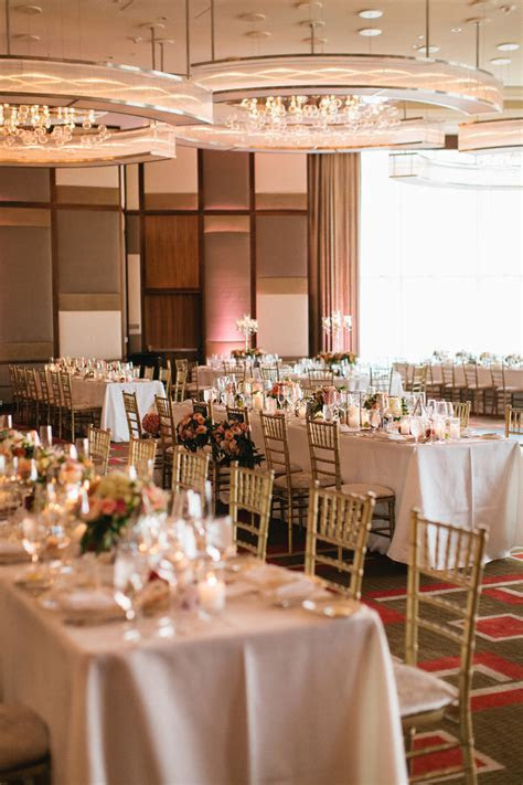 Pink Peach Ballroom Wedding from Meg Ruth Photo