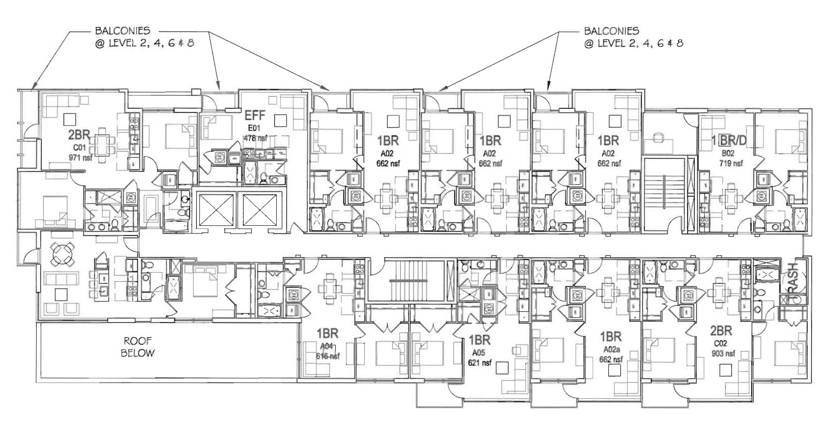 Revised plans for apartment building at 22th & V - Meridian Hill