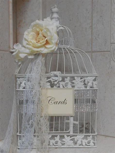 Romantic Birdcage Wedding Cardholder / Birdcage Card Box