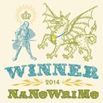 I won NaNoWriMo 2014!