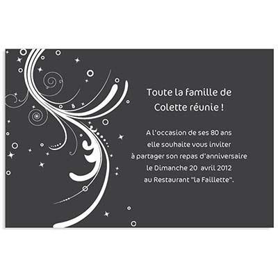 Carte D Anniversaire Invitation Adulte Carte Fiolazoezoey Blog
