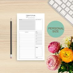 Personalized planner notebook 2016 2017 daily weekly monthly ...