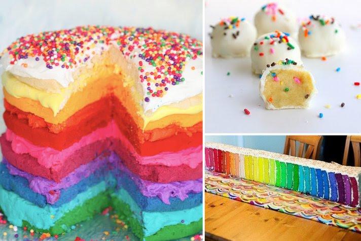 Tasty Wedding Cake Alternatives for a Unique Reception Confetti Rainbow