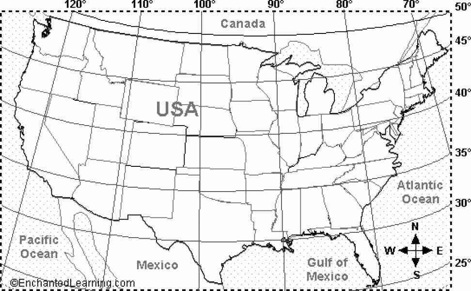 Image Result For Latitude And Longitude Map Of Canada