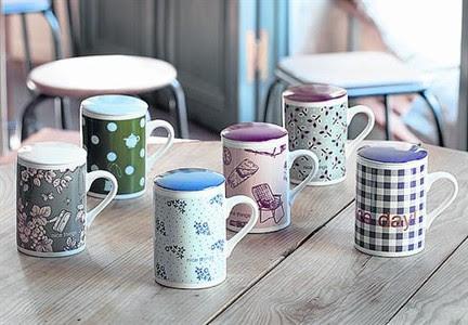 Las tazas Nice Things, que se entregan cada fin de semana con El Periodico.