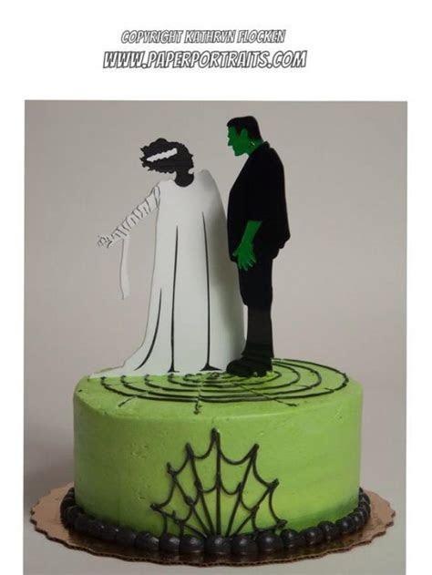 Frankenstein And Bride Of Frankenstein Halloween Or