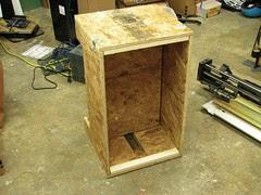 Box and piston