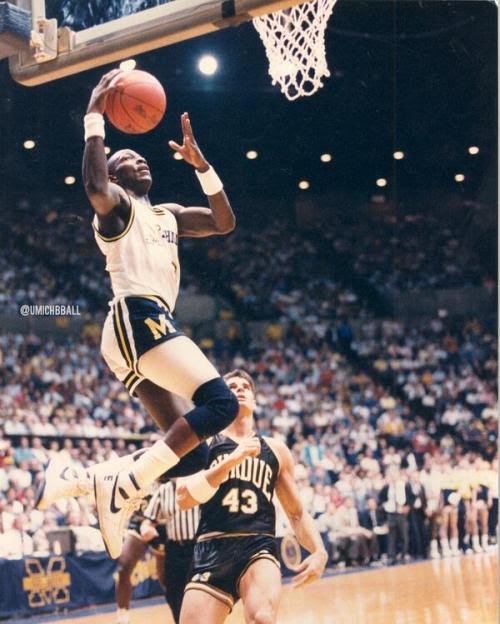 Michigan Basketball's all-time assists and steals leader, Gary Grant.