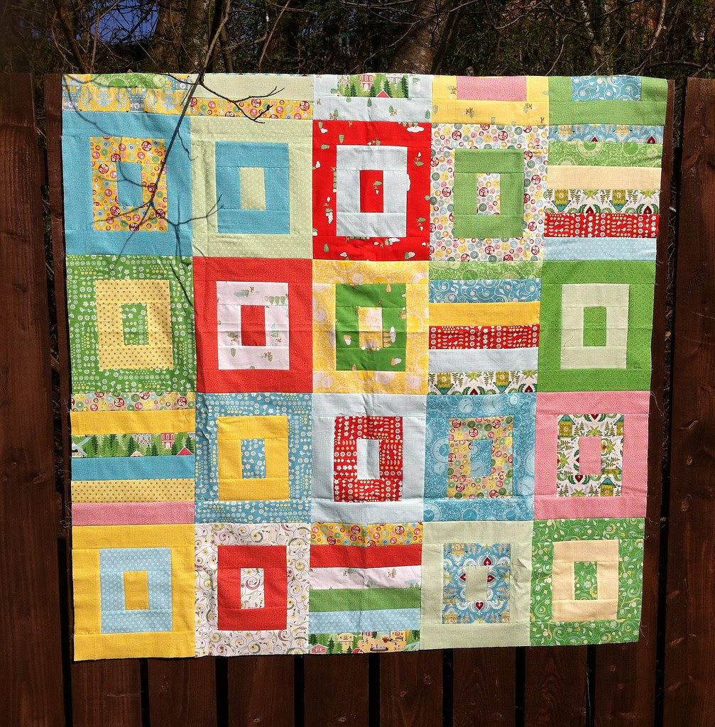 Jelly Filled quilt top