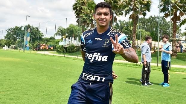 Dudu Treino Palmeiras Atibaia 17/11/2015