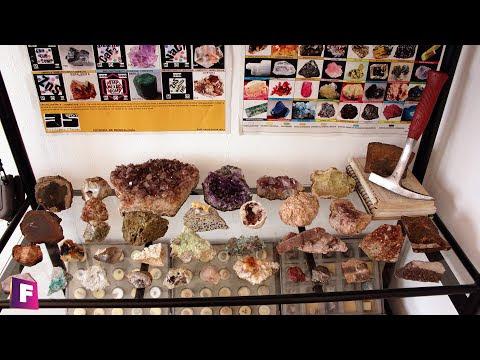 Mi coleccion de minerales y piedras preciosas - una revision completa