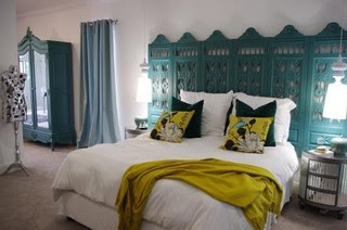 Sacha & Johans High Risk / High Reward Home House Call | Apartment Therapy New eclectic bedroom