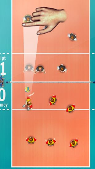 Screenshots of the Volleyball championship 2014 for Android tablet, phone.