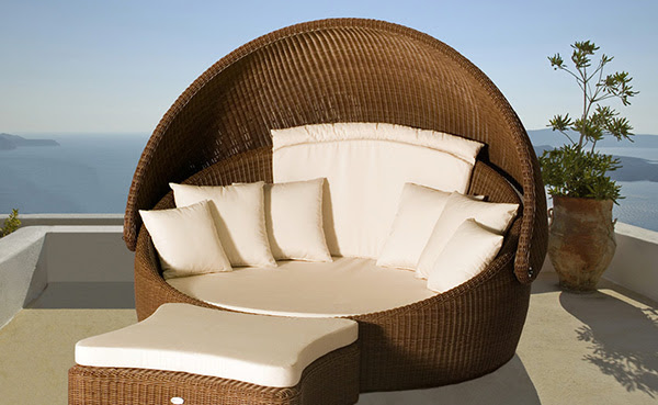 Wicker Outdoor Furniture from Merane | Modern Outdoors