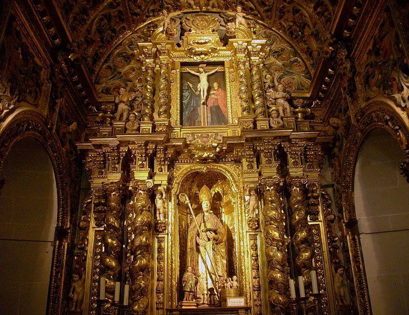 Altar de sant Nicolau, cocatedral d'Alacant.JPG