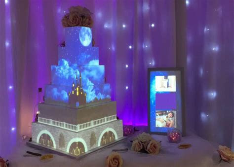 How You Can Experience a Disney Projection Cake