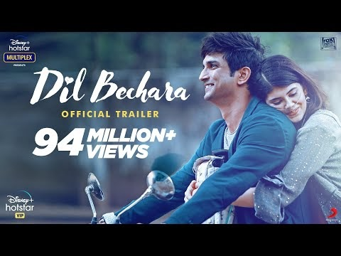 Dil Bechara Release Date on Hotstar
