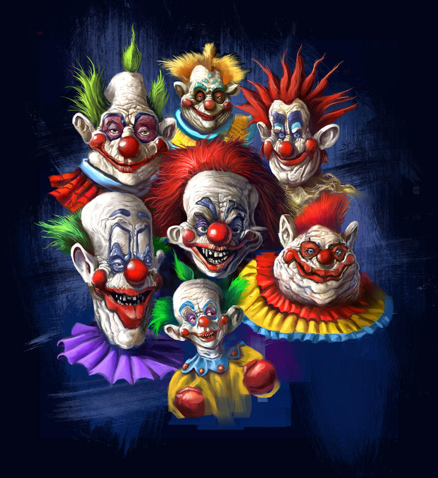 Killer Klowns From Outer Space Clowns