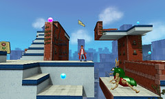 CRUSH3D Announcement Screens