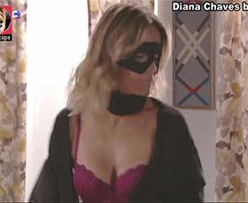 Diana Chaves super sensual na novela Vidas Opostas