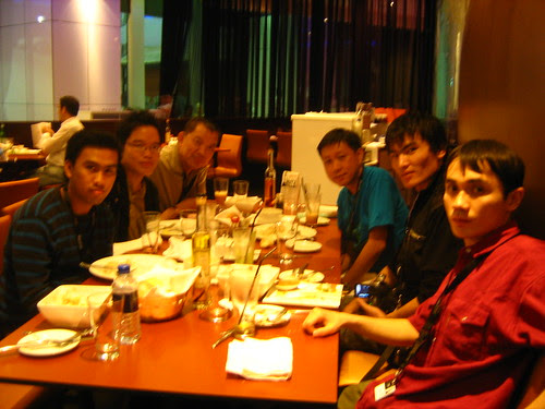Dinner after the screening